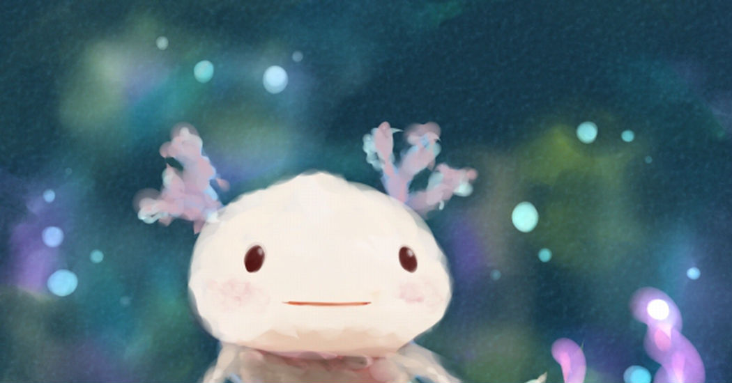 Axolotl! ...Walking Fish?
