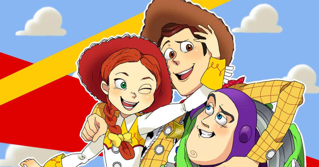 Pixar: Fan Illustrations!