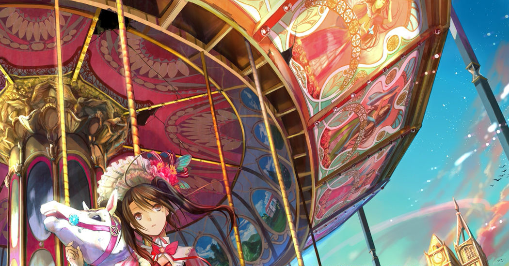 Feel Like a Princess ♡ Drawings of Merry-go-round