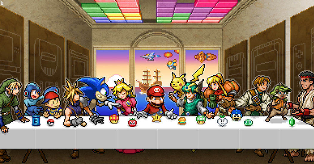 """The famous painting transformed! """"The Last Supper""""-themed Drawings"""
