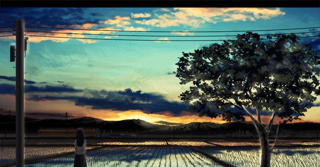 I've seen this landscape somewhere... Summer Memories
