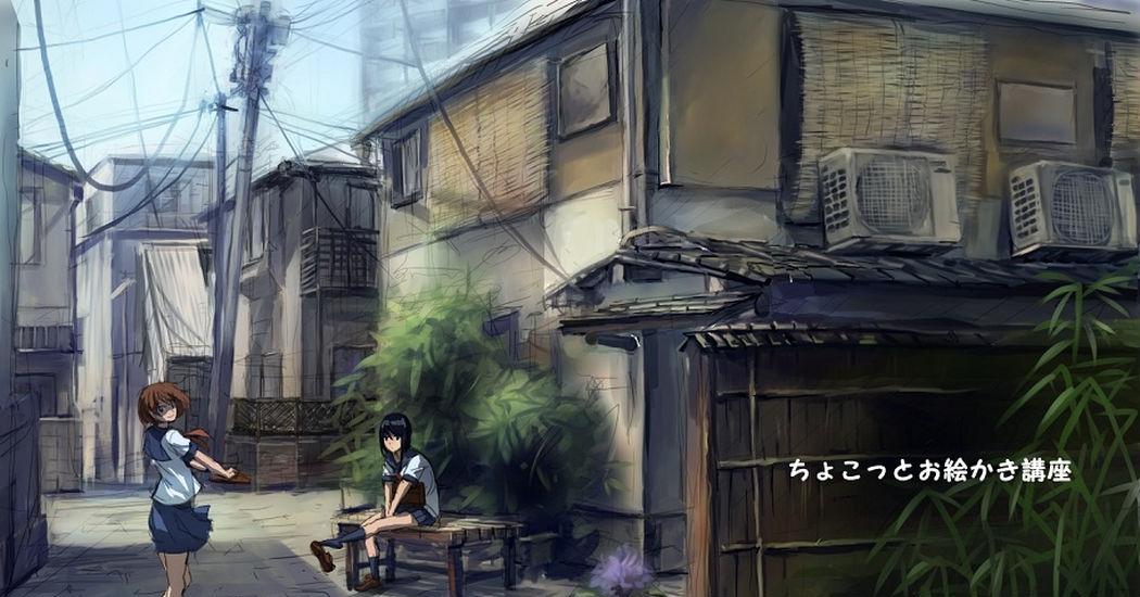 街の描き方10選 , 【講座】 , pixivision
