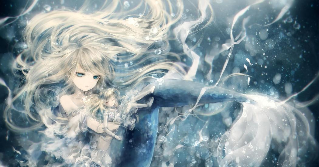 人魚姫を描いたイラスト特集 童話シリーズ Pixivision