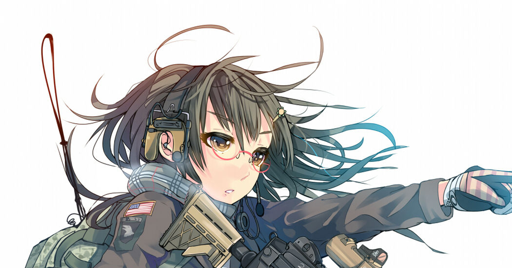 Military girls!
