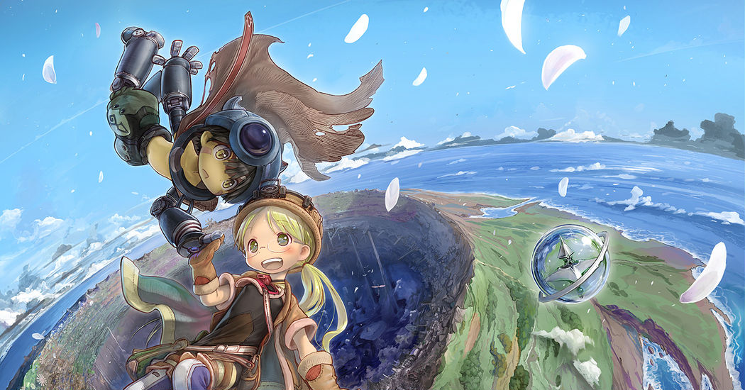 "Venture into the mysterious giant hole--""Abyss""! ""Made in Abyss"" Illustrations"