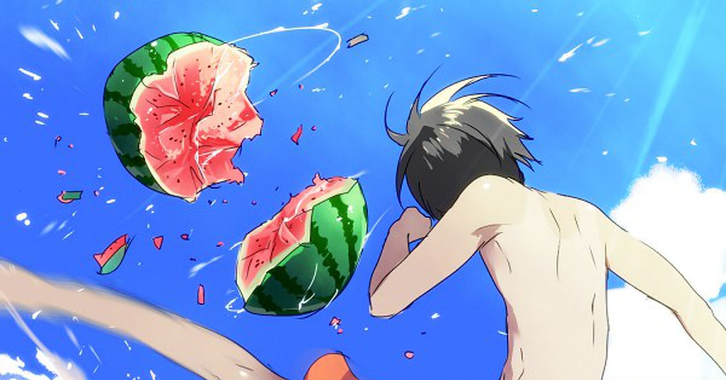 Representative of Summer Fruit, Watermelons!