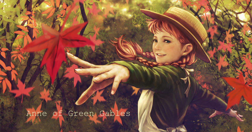 Freckled Fantasy Cute Girls ♪ Illustrations Featuring Anne of Green Gables
