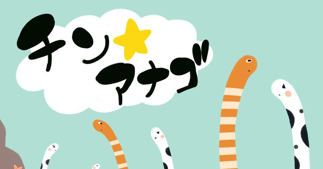 Adorable Garden Eels!! Chin-anago Day!