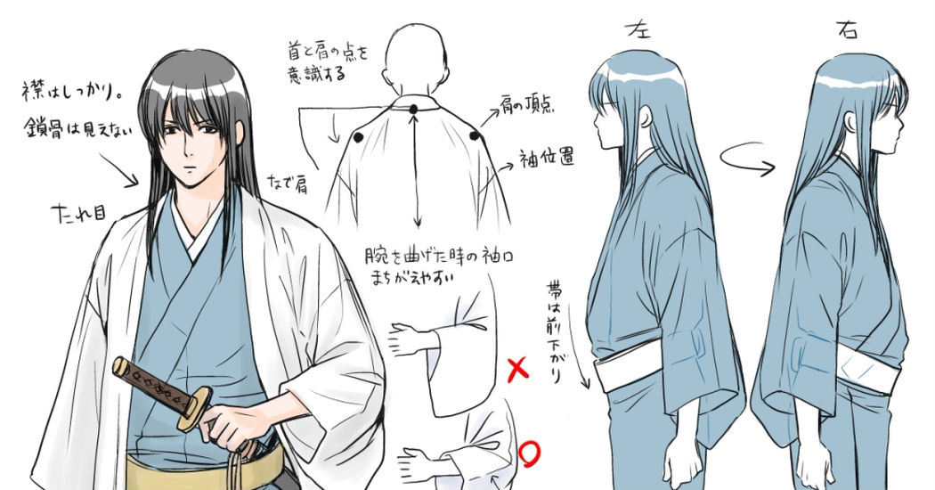 8 tutorials about male Japanese clothing!