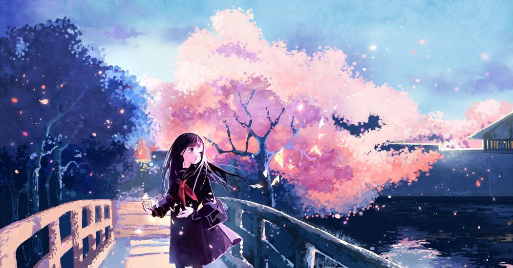 桜のイラスト特集 出会いと別れを彩る花 Pixivision