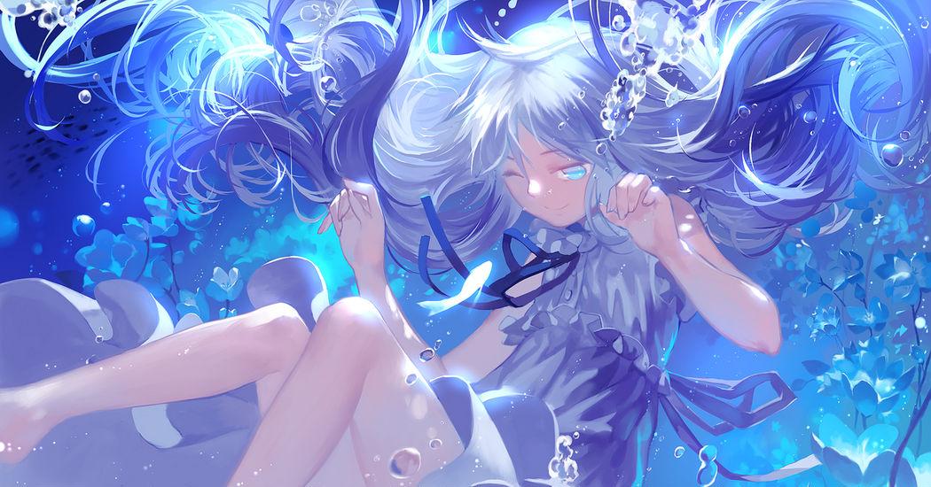 Colors Series: Mizu-iro, Shades of Blue