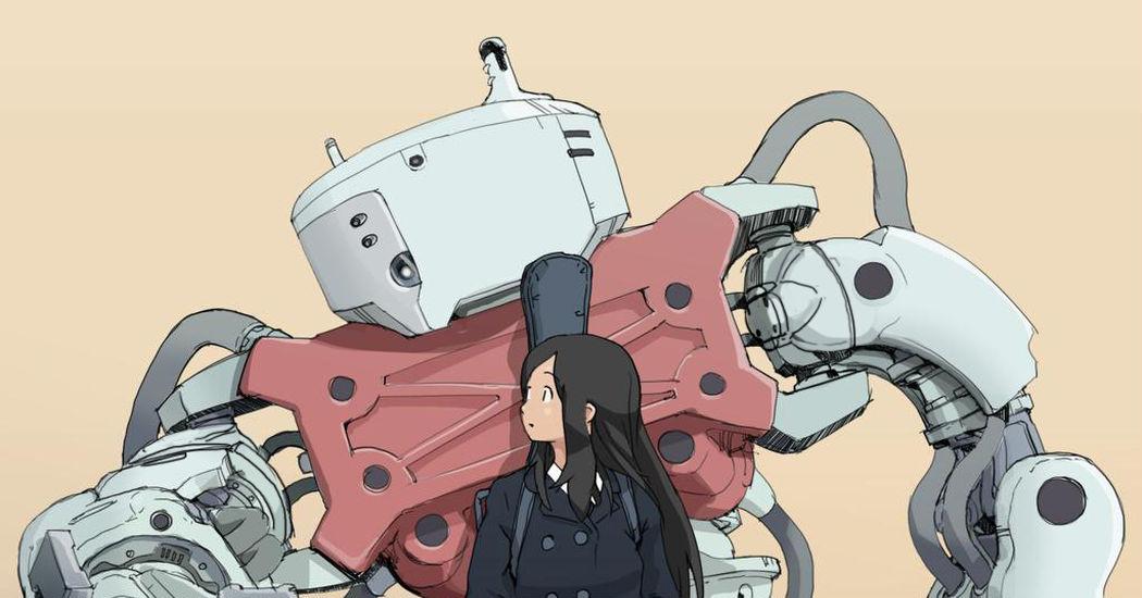 Can robots be gentle creatures too? Girls x Robots!