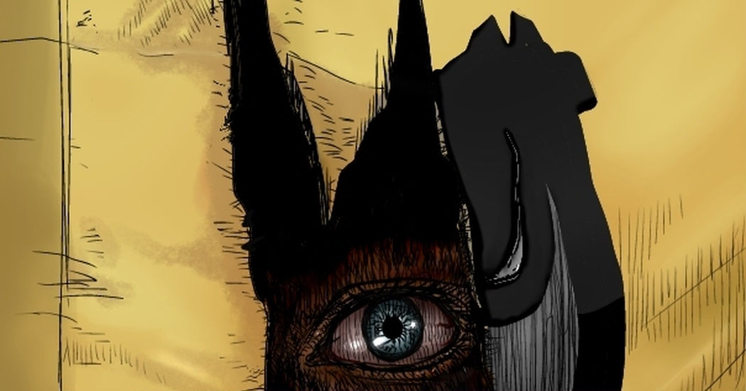 【Viewer Discretion Advised】Something is right behind you. Horror Illustrations