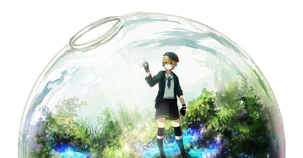 テラリウムを描いたイラスト特集 ガラスの中の森林 Pixivision