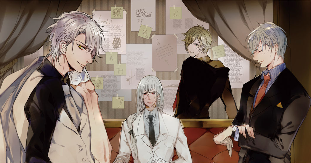Such a Sight! Ikemen Wearing Suits