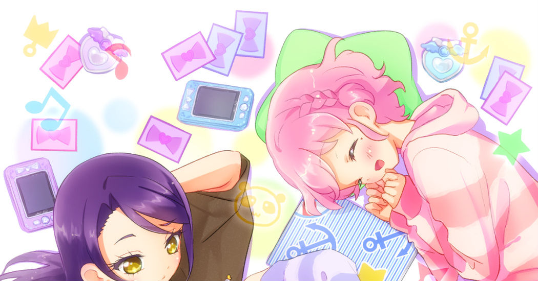 Relaxation Time♡Illustrated Feature Girls' Rooms