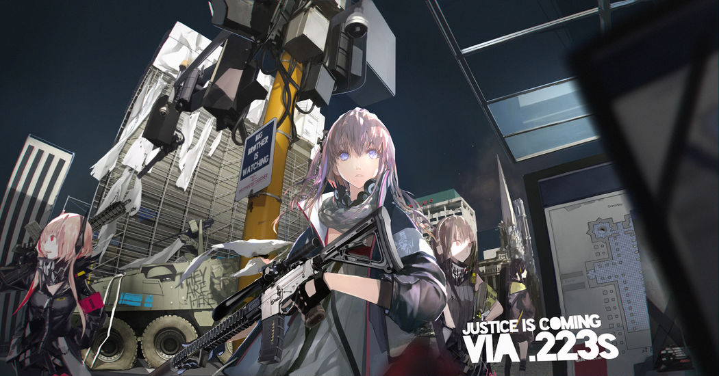 "The super popular game is finally coming to Japan! ""Girls' Frontline"" Illustrations"