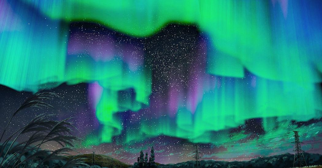 Aurora lights!!!