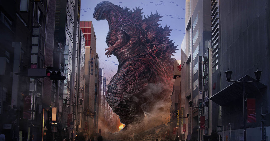 Godzilla of Japan!