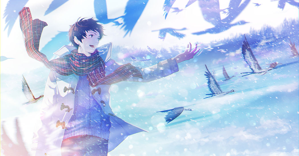 I want to fly! Birds and Boys