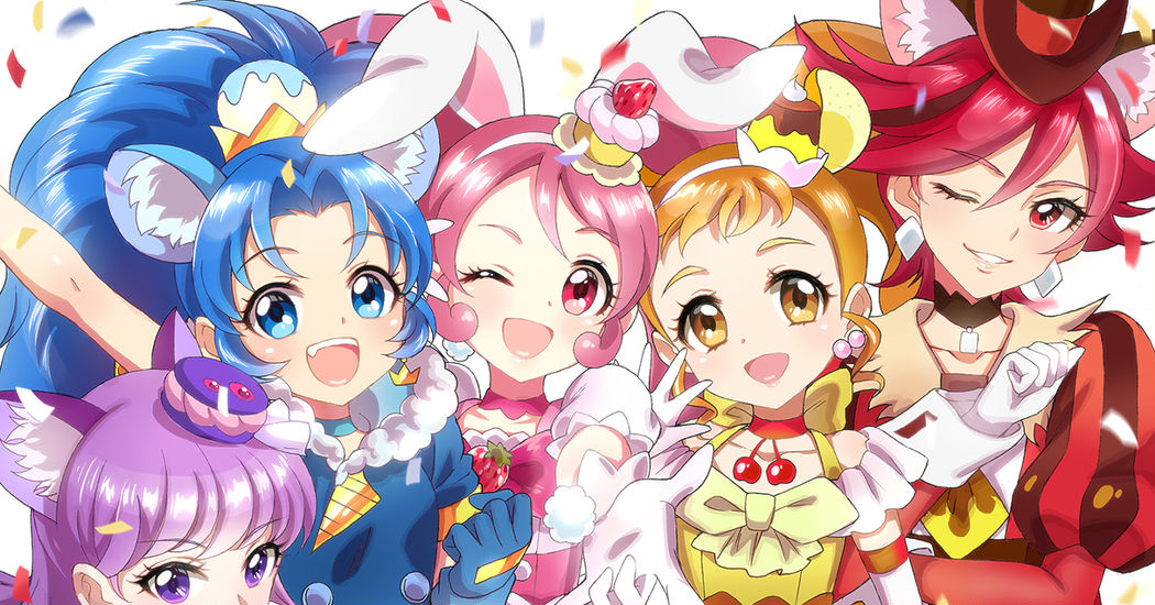 """Kirakira PreCure a la Mode"" Illustration Collection"