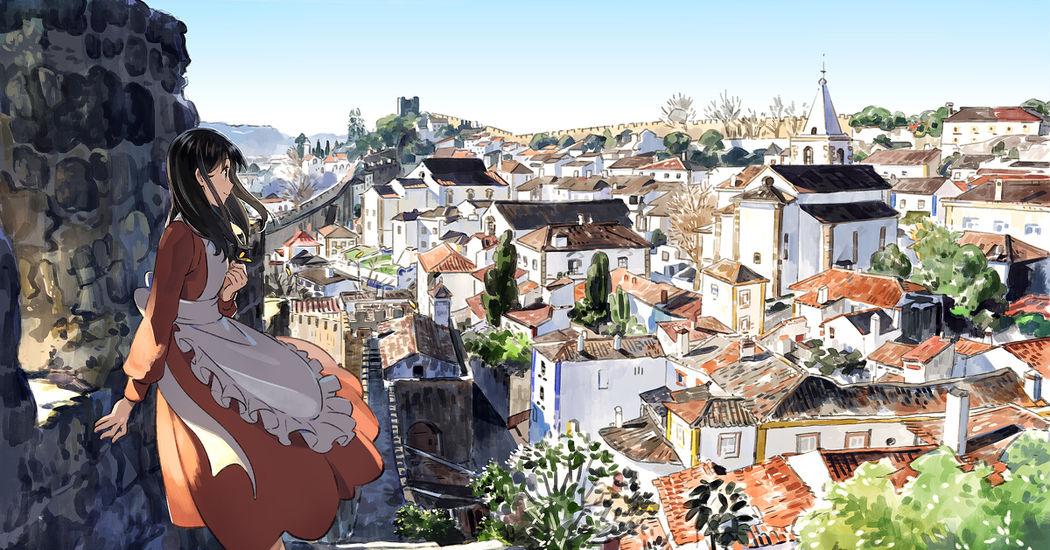 ヨーロピアンな街並みを描いたイラスト特集 旅に出ようよ Pixivision