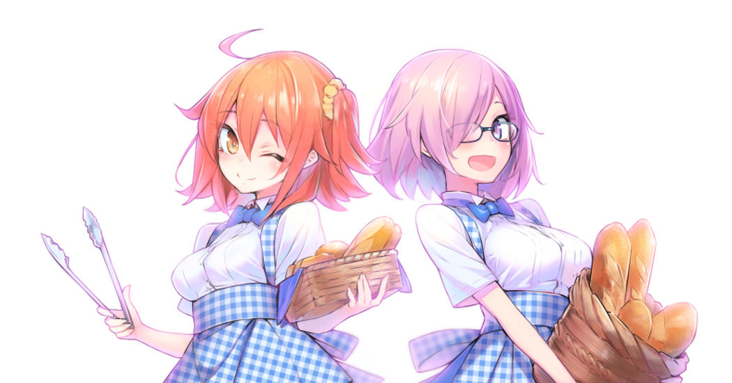 Wrapped in the scent of bread♡ Drawings of Kobeya Uniforms