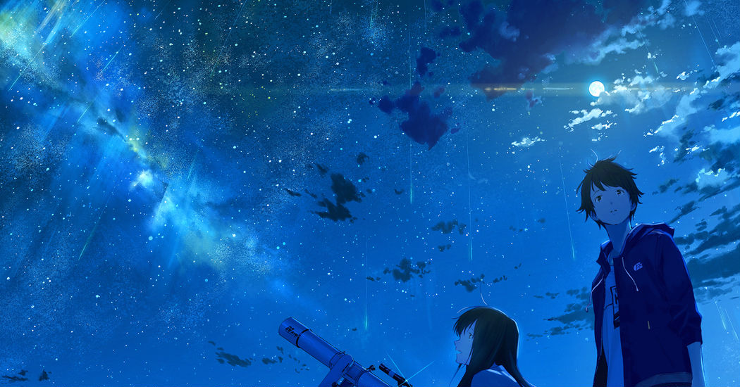 I won't forget the sky that we saw that day. Astronomical Observation and Telescope Illustrations