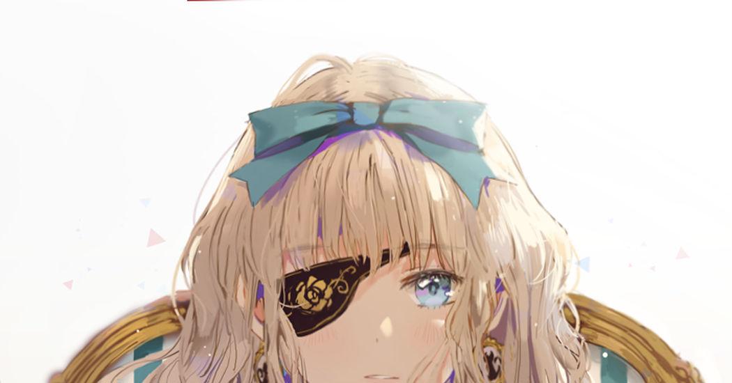 Eyepatch Girls Illustrations