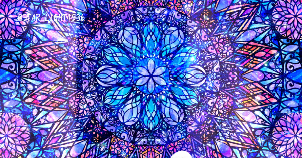 Trapped in a kaleidoscope ♡ Stained Glass