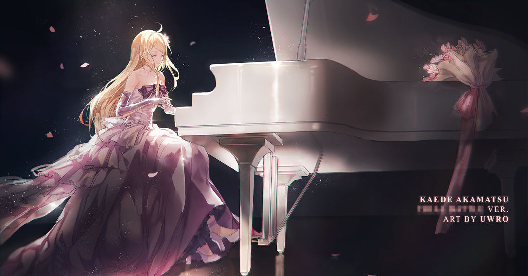 Convey your feelings through melody. Piano Illustrations