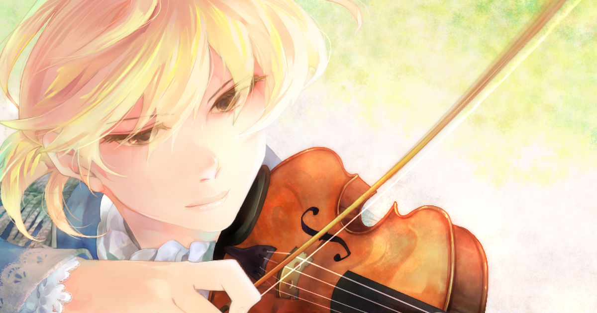 Tugging on our heartstrings. Violins