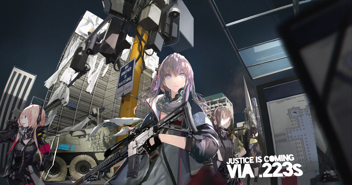 """The super popular game is finally coming to Japan! """"Girls' Frontline"""" Drawings"""