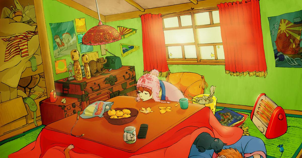 Warmth that Make You Smile, Enjoy the Kotatsu!