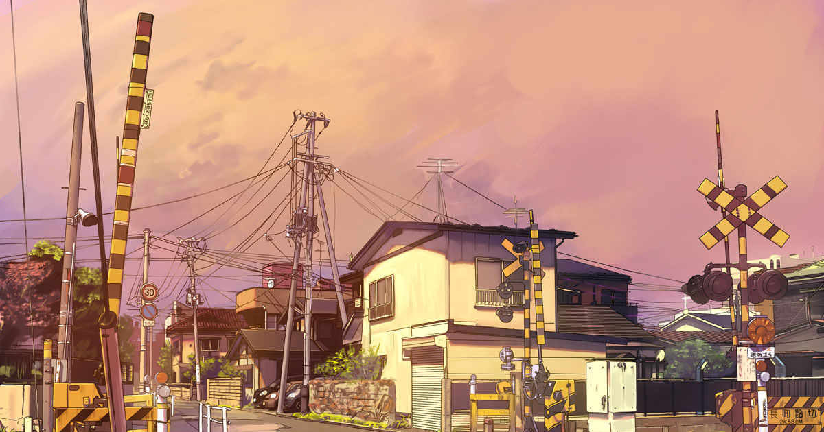 Nostalgic Sound, Railroad Crossing Drawings