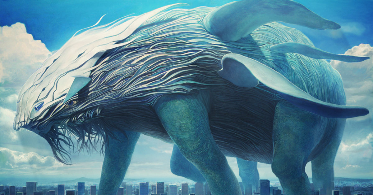 Giant Creatures, What An Overwhelming Force!