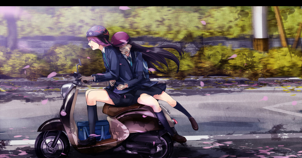 Two Riding Together!