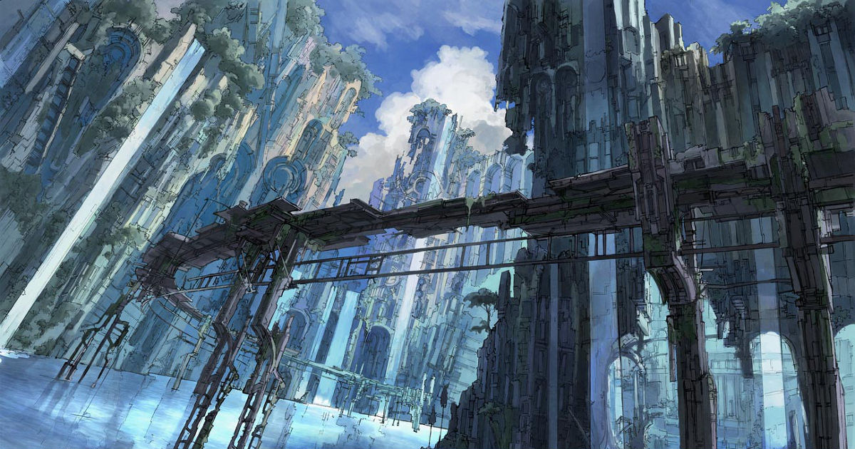 A quiet world that was once a bustling city! Submerged cities!