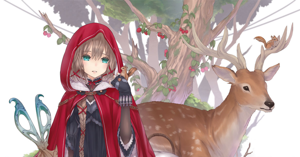 Little Red Riding Hood collection!