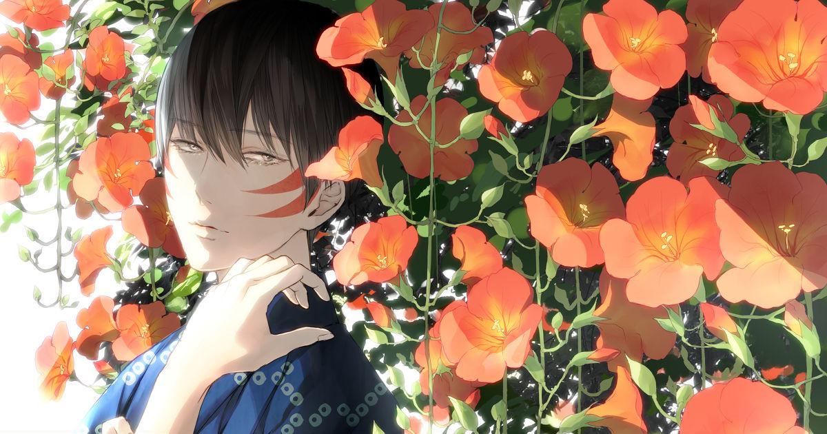 Burning Scarlet♥ Chinese Trumpet Flower