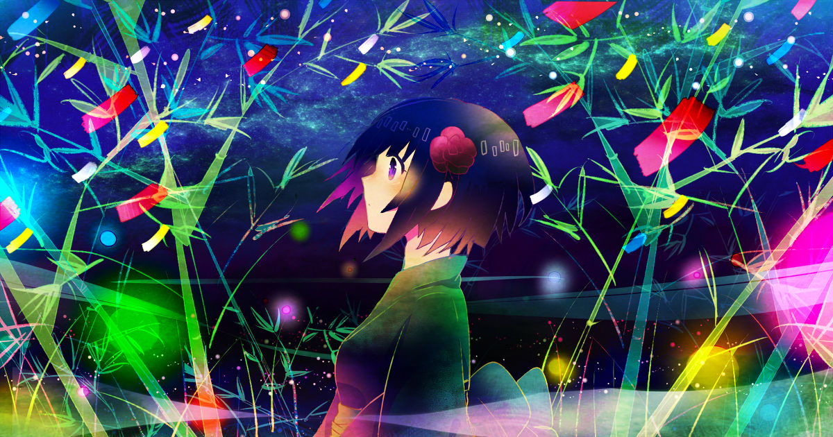 Make a wish! Tanabata Drawings