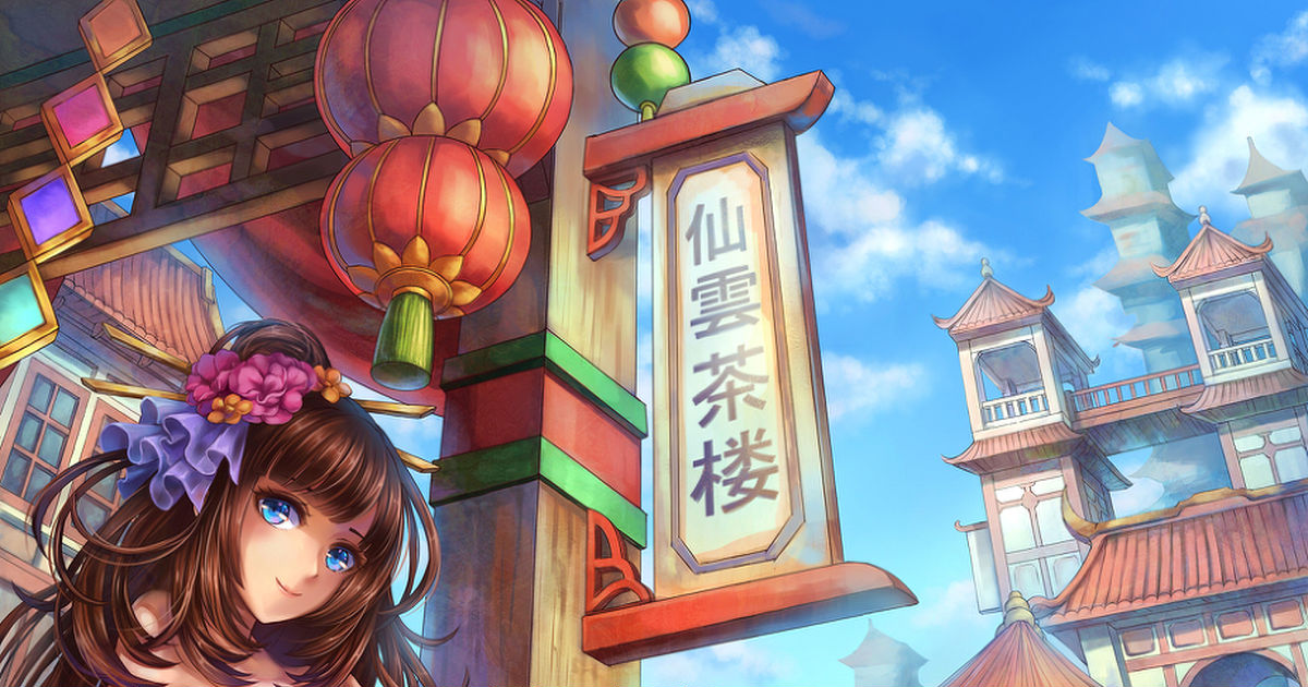 Exotic and Brilliant, Chinese-style Fantasy World!