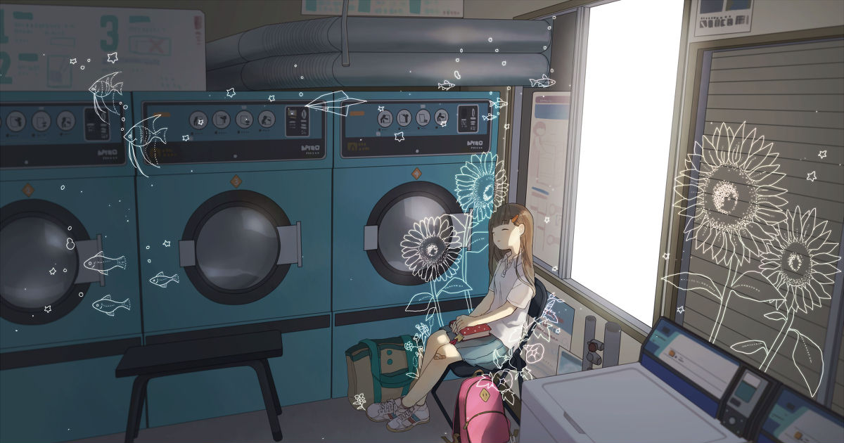 Spinning Laundries, Coin Laundry Special!