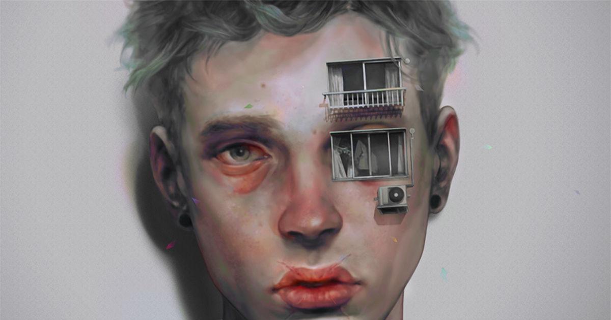 Drawings that tickle your brain. The Beautiful Boys In 非 (Hi)'s Psychotic Art