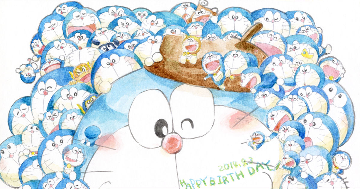 Happy birthday Doraemon!