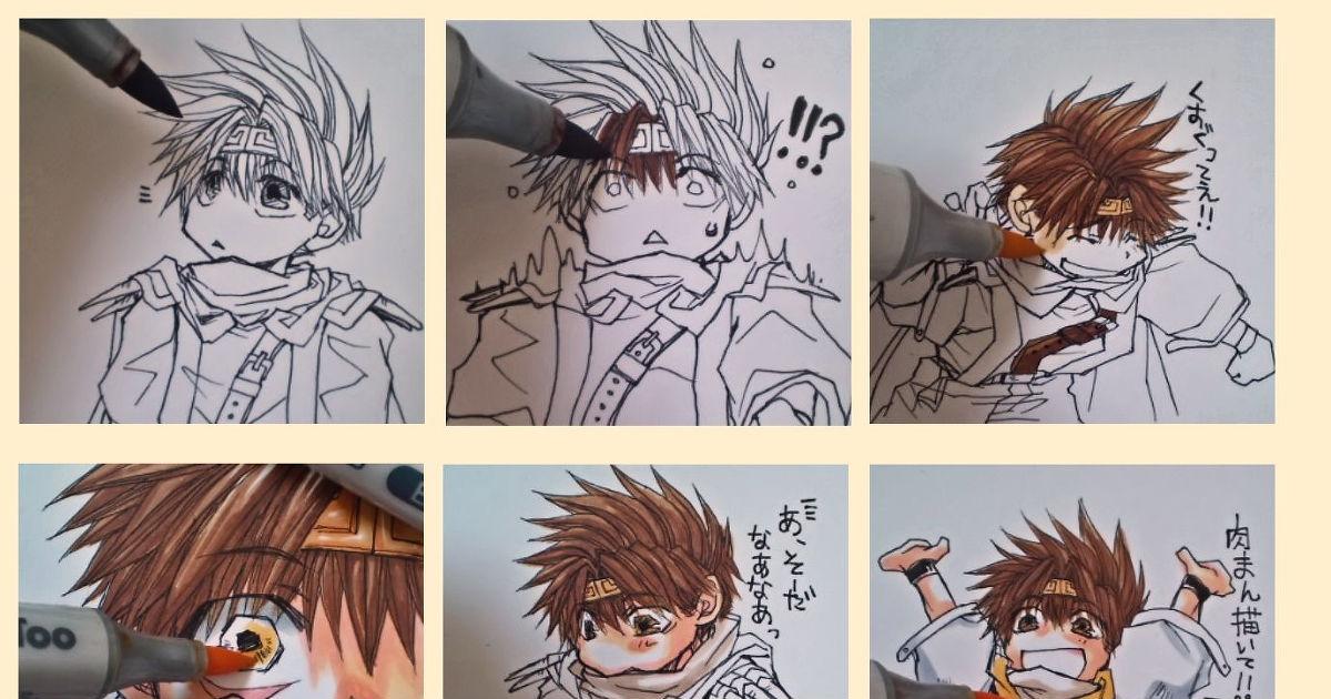 "It's hard to color it, if it moves! ""Ugokukara Nurinikui"""