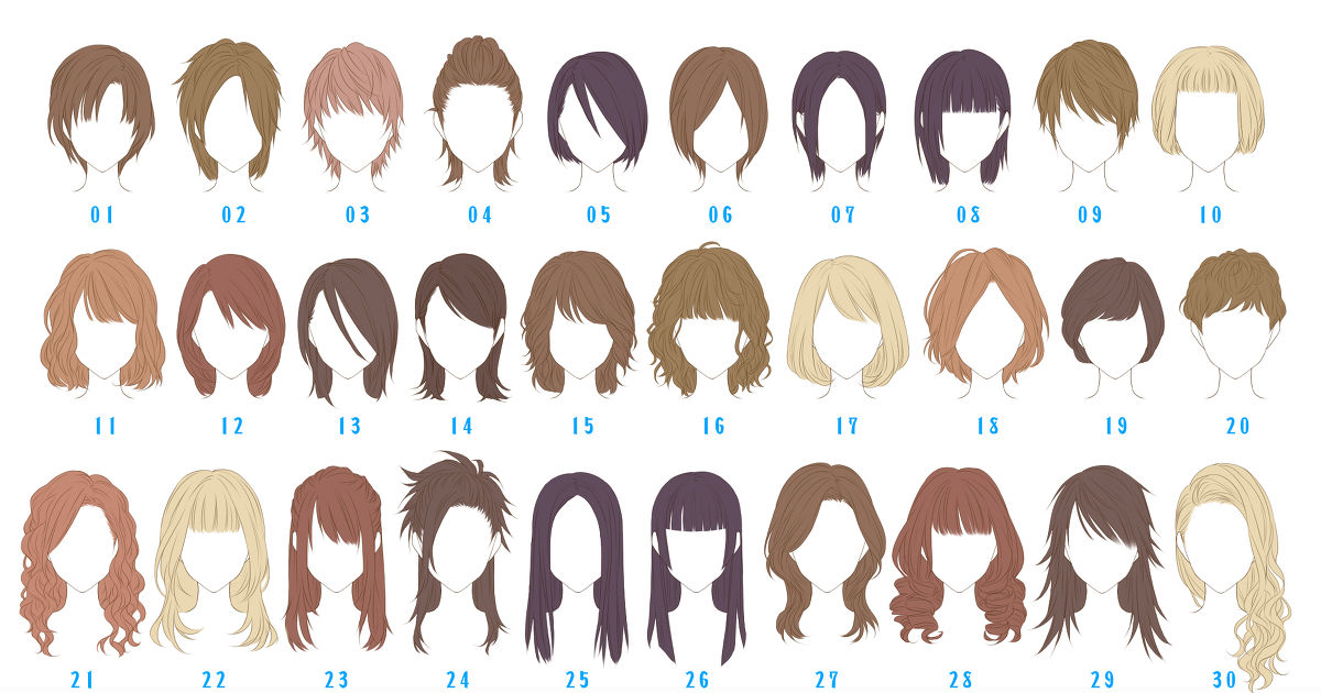 Hairstyles Collection!