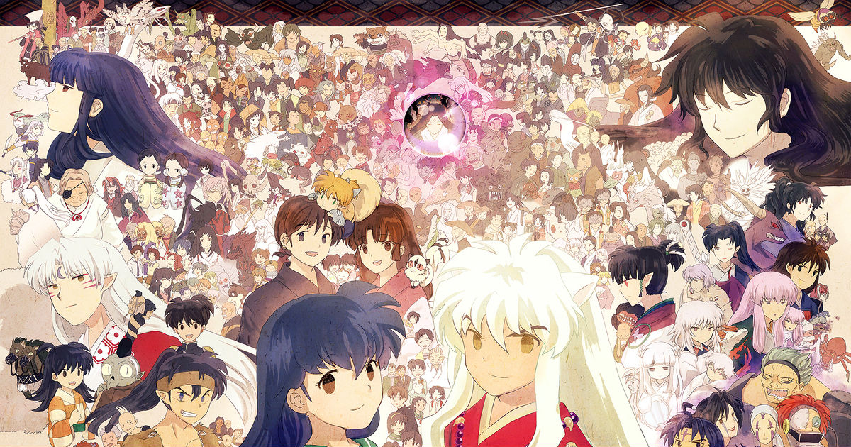 20th Anniversary Celebration! Inuyasha Drawings
