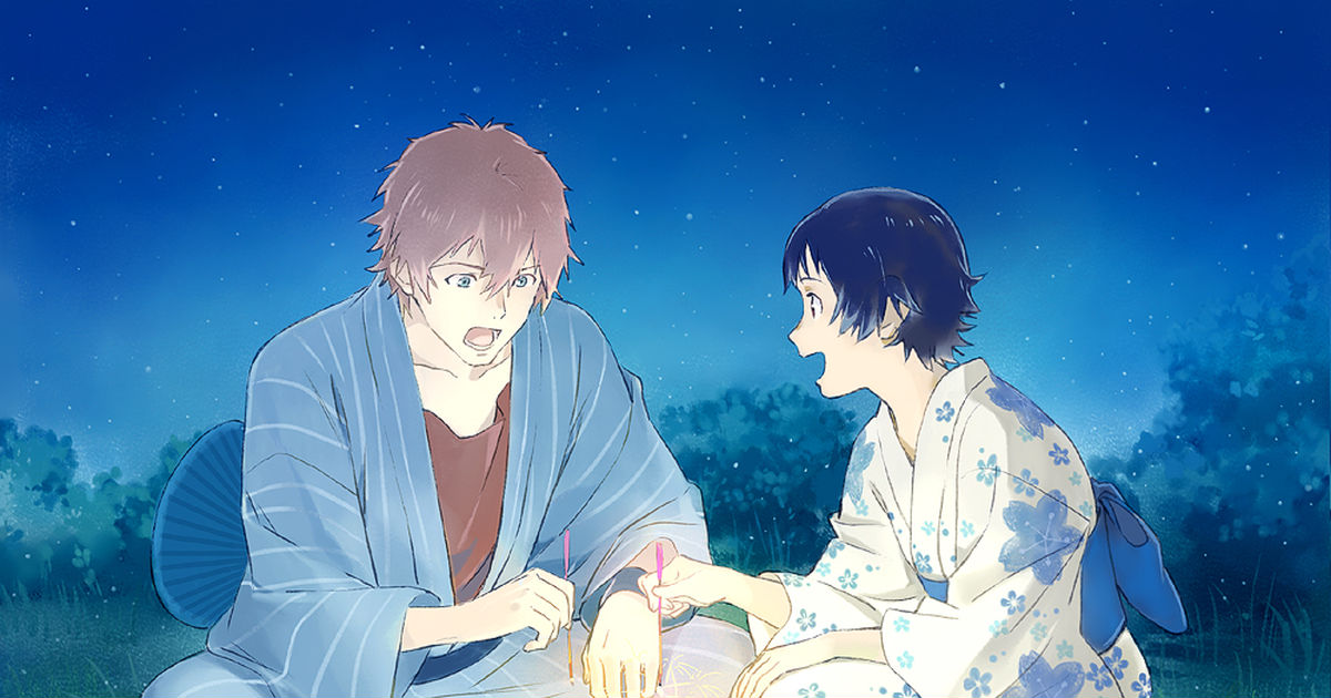 A lovely moment with summer and you. Drawings of Yukata Date