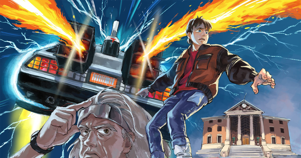 Back to the Future 2:That Day Has Come! Marty & Doc will show up!#BTTF